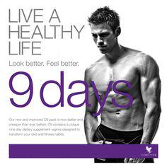 Clean9 lebe ein gesundes Leben forever-fit