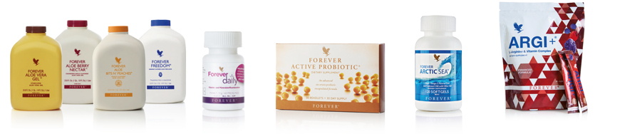 Aloe Vera Gel Forever daily Active Probiotic Artic Sea Argi