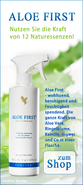 banner aloe vera first spray gel