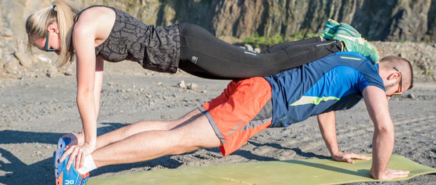 Fit Schlank Gruppe Sport Fitness abnehmen